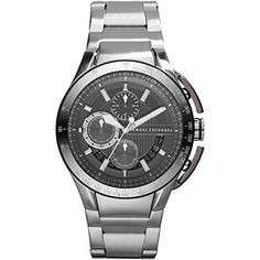 dba5b2461ab2 AX Armani Exchange Aluminum Accent Bracelet Watch