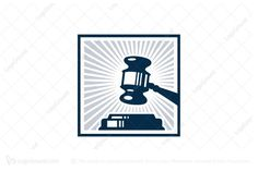 Logo for sale: Law Office Gavel Logo