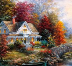 Lovely Paintings by American Painter