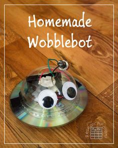 Homemade Wobblebot - A great first robotics project for kids - by ResearchParent.com