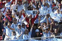 La hinchada argentina fue local en La Serena
