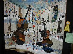 music quilt-love the movement which comes from those curves