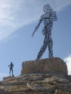 Big Sculpture in Jardim Budha Eden, Bombarral - Portugal - photo by NuCeu