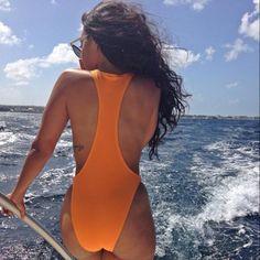 Angela Simmons onboard! #sexy #ebony #swimsuit