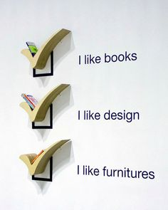 Checkbox Bookshelves