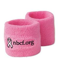 NBCF Pink Wristbands (pack of 12) W10374