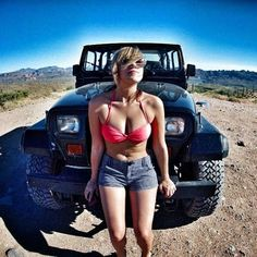 Jeeps and Jeep Girls. Some NSFW. Some pics and vids are my personal ones, but most pics are from the net so if its yours or copyrighted let me know and it will be removed. Jeep 4x4, Jeep Truck, Jeep Winch, Jeep Willys, Ford Trucks, Pickup Trucks, Trucks And Girls, Car Girls, Jeep Wrangler Girl