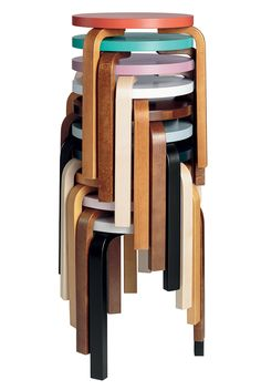 Tabouret 60, Alvar Aalto (Artek)