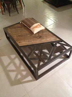 Tables basses mobilier industriel - L'Or du Temps