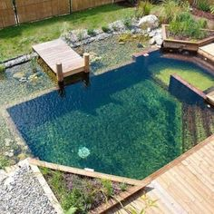 Natural Pool Ideas On Home Backyard 58
