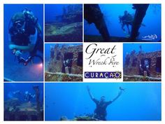 """Tomorrow 21 aug 09:00 we go again to the """"Superior Producer"""" from shore. One of the best wreckdives at Curacao. Call if you want to join.. A few spots available ...  #scuba #diving #relaxedguideddives #duiken #tauchen #fun #curacao #wreck"""