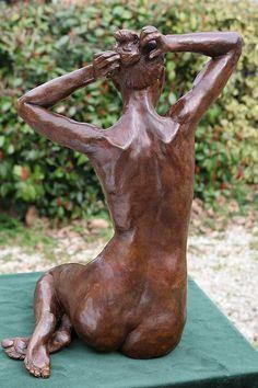 Human Sculpture, Sculpture Head, Sculptures Céramiques, Pottery Sculpture, Modern Sculpture, Wood Sculpture, Human Art, Art Plastique, Figurative Art