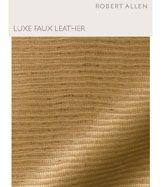 Robert Allen Luxe Faux Leather Digital Fabric Book