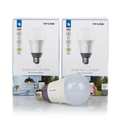 TP-Link 2pk Smart LED Light Bulbs – Color