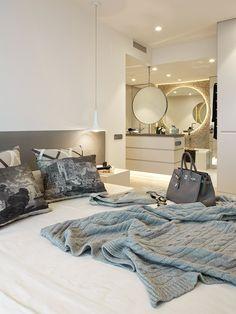 Molins interiors // interiorismo doméstico - dormitorio suite - suite principal - baño suite - diagonal mar