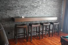drink rail for basement