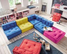 My Cushion Sitzkissen mit Lehne für Kids, Bild 7 - Upholstery Ideas Floor Couch, Floor Pillows, Floor Cushion Couch, Kids Floor Cushions, Big Pillows, Sectional Patio Furniture, Kids Furniture, Cheap Furniture, Home Decoracion