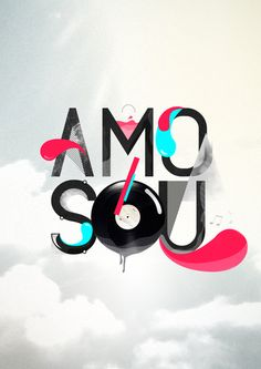 AMO/SOU by Phellipe Wanderley, via Behance
