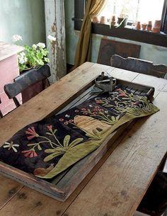 Wool Applique Patterns, Rug Hooking Patterns, Felt Applique, Applique Quilts, Rug Patterns, Patchwork Patterns, Applique Designs, Embroidery Patterns, Vegetable Crafts