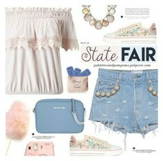 """""""State Fair"""" by makizzlemynizzl ❤ liked on Polyvore featuring fun, girly and statefair"""