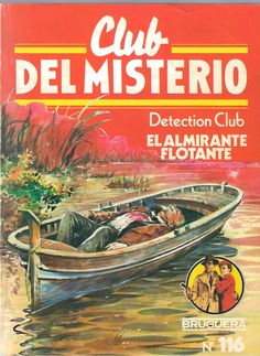 great cover - Spanish edition of The Floating Admiral, The Detection Club