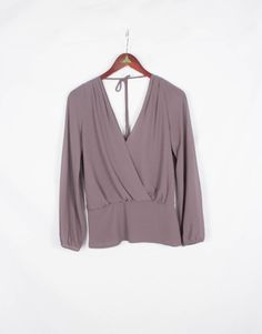 Double V blouse from KLD.