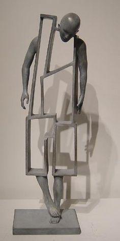 O que você acha? Sculpture Metal, Geometric Sculpture, Found Object Art, High Art, Land Art, Art Plastique, Metal Art, Modern Art, Contemporary Art