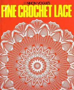 Nihon Vogue Fine Crochet Lacde
