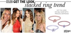 Nicole Richie, Candice Swanepoel, Stacking Rings, Get The Look, Rihanna, Diamonds, Celebs, Trends, Jewellery