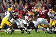 Yeldon leads Alabama fight against LSU