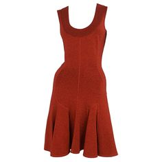 ALAIA red dress