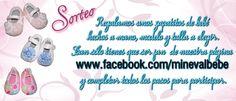 Sorteo en Mineval Moda Infantil! síguelos en Facebook.