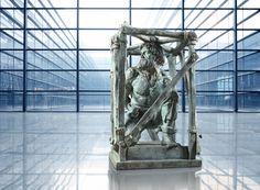 "Emelyan Pugachev. Bronze sculpture. The project ""MYTH."" Author Ivan Korzhev"