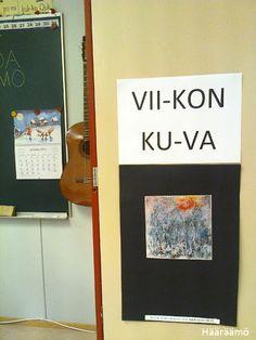 Viikon kuva: Maalaustaidetta tutuksi http://www.haaraamo.fi
