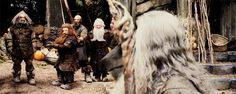 Oin, Gloin, Dwalin, Balin, Gandalf