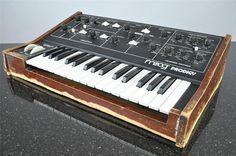 Moog Prodigy via: matrixsynth
