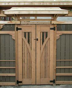 wood gates Tampa FLA