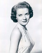 """The Polly Bergen Show is a half-hour 18-episode comedy/variety show, starring then 27-year-old Polly Bergen, which aired on NBC in the 1957-1958 television season. The program is remembered for its impressive guest-star lineup as well as its closing theme song, """"The Party's Over"""" (1956).[1]The Polly Bergen Show alternated in the 9 p.m. EST Saturday time slot with the equally short-lived Club Oasis."""