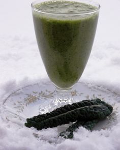 The Intentional Minimalist: 'winter greens' smoothie recipes  - several great recipes using local ingredients!