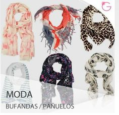 Las bufandas y pañuelos estarán muy de moda durante este período #Moda Casual Chic, Alexander Mcqueen Scarf, What To Wear, Scarves, My Style, Accessories, Outfits, Clothes, Google