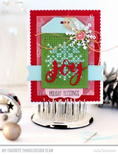 Cross-stitch Tag Chr