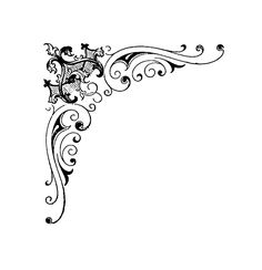 Scroll Designs further 309833649336673277 further Post free Vector Art Borders 48793 as well Floral Versiering 1764695 likewise Corner Border Design. on deco corner clip art