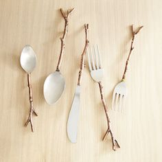 Arbor Bronze 20-Piece Flatware Set