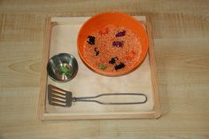 Montessori-Inspired Halloween Activities at Living Montessori Now (Photo from Counting Coconuts)
