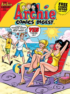 "Read ""Archie Comics Digest by Archie Superstars available from Rakuten Kobo. Grab your surfboard and hang ten with Archie and the gang! Well, at very least watch Archie try to hang ten! Archie Comics Characters, Comics Und Cartoons, Archie Comic Books, Comic Book Characters, Archie Comics Riverdale, Comic Book Frames, Comic Book Covers, Old Comics, Vintage Comics"