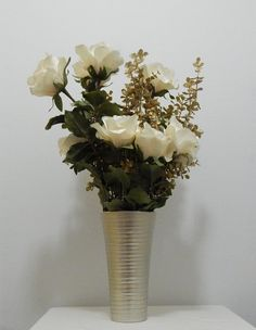 Not Just For Christmas   This Amazing Silk Flower Arrangement Will Add  Flair To Your Living