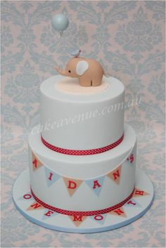 The original Baby Elephant Cake, created to match the printable Baby Elephant design by Style Me Gorgeous! Baby Elephant Cake, Elephant Party, Fondant Figures Tutorial, Jungle Cake, Baby Shower Cakes For Boys, Fondant Decorations, Fashion Cakes, Novelty Cakes, Fancy Cakes