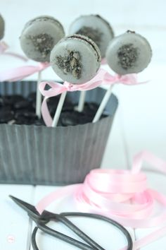 Lisbeths Cupcakes Liquorice Macarons