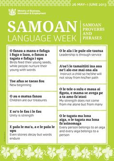 35 best samoan language images on pinterest polynesian culture samoan language week 2013 m4hsunfo