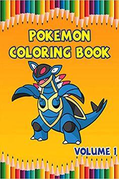 12 Pokemon Inspired Mini Coloring Books